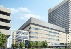 東京逓信病院(千代田区)の外観