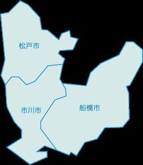 千葉エリア地図